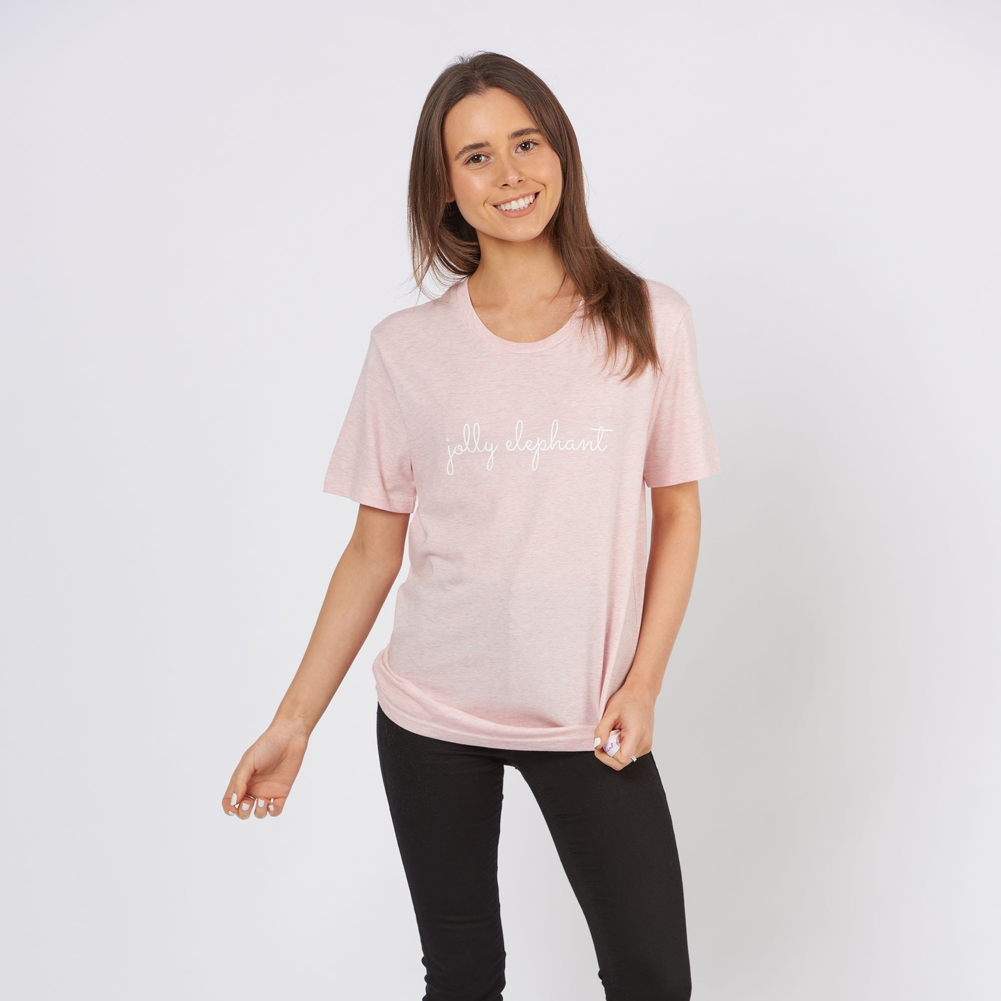 Light Pink Jolly Elephant T-Shirt