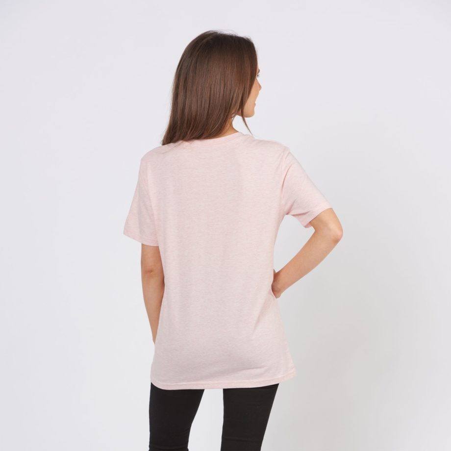 Light Pink Jolly Elephant T-Shirt back